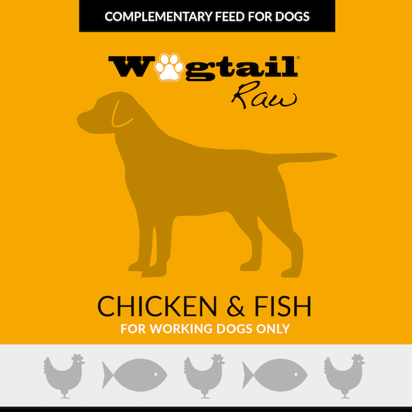Wagtail raw chicken fish mince 454g the wagtail way for Raw fish for dogs