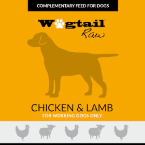 chicken & lamb mince for dogs