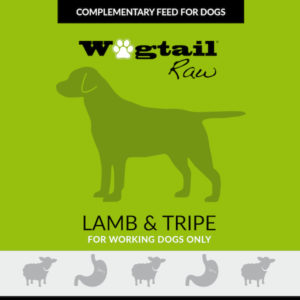 lamb & lamb tripe mince for dogs