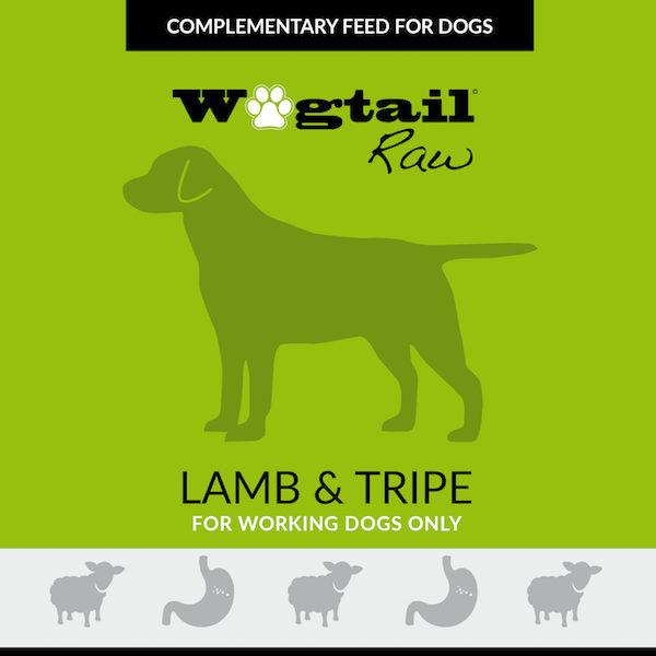 lamb & lamb tripe mince for dogs