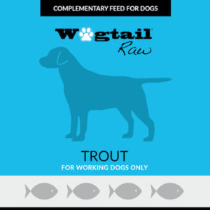 trout mince for dogs