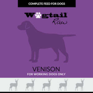 venison mince for dogs