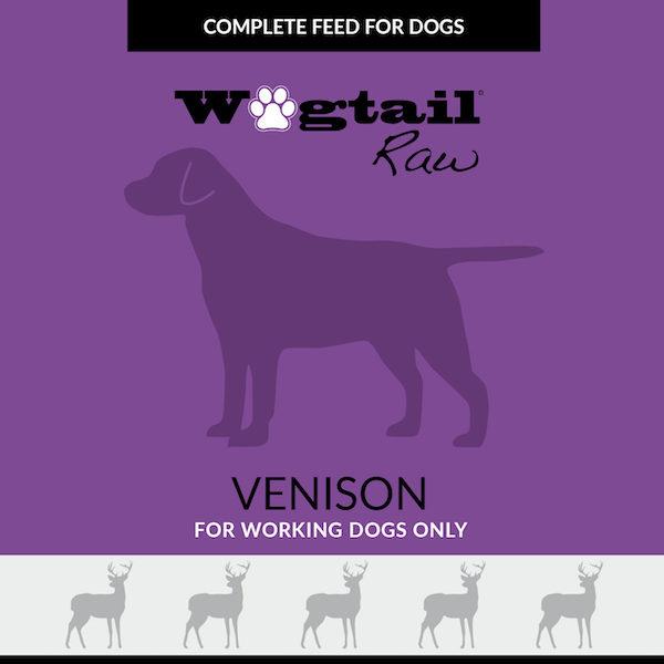 venison mince for dogs