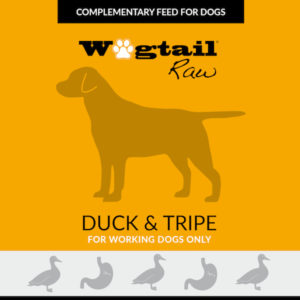 duck & tripe mince for dogs