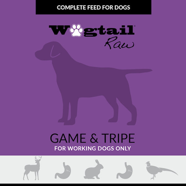 game & tripe mince for dogs