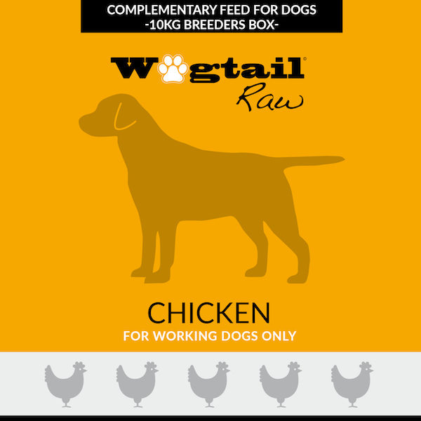 chicken mince for dogs - 10kg Breeders Box