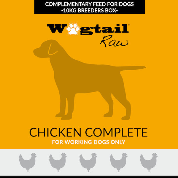 chicken complete mince for dogs - 10kg Breeders Box